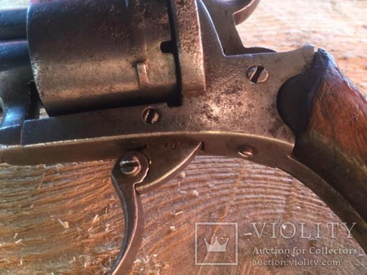 Карманный шпилечный 7мм револьвер системы Лефоше, фото №11