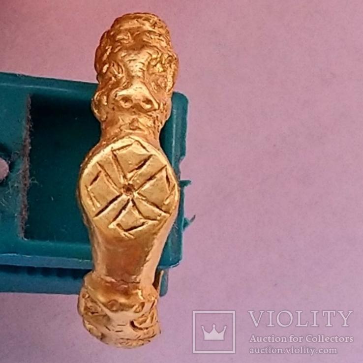 Золотой перстень 15-16 век
