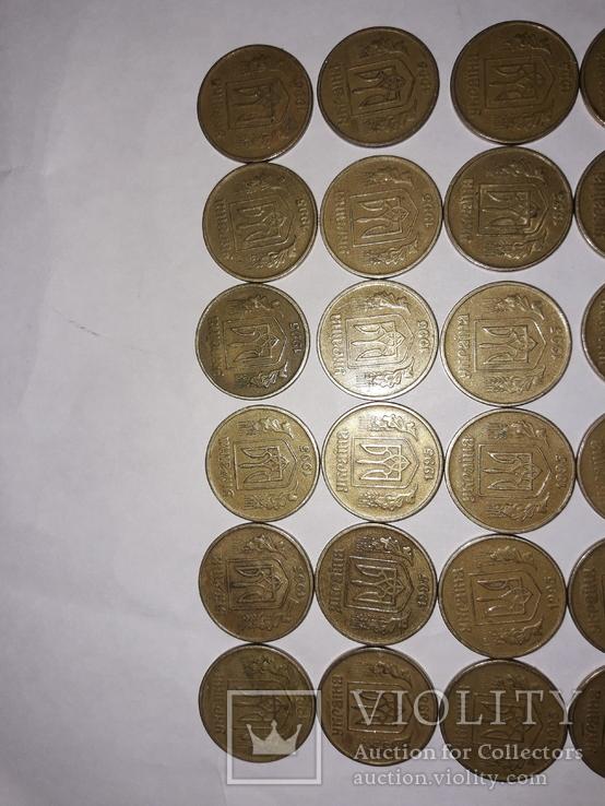 50 копеек 1995 года(30 штук), фото №4