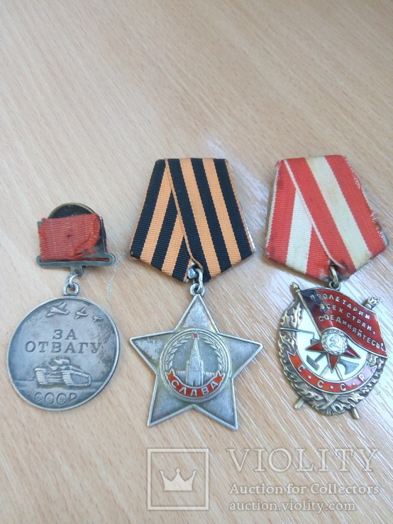 Комплект боев.орденов ВОВ