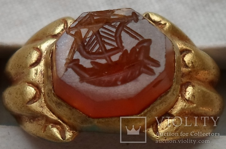 Золотой Перстень Корабль