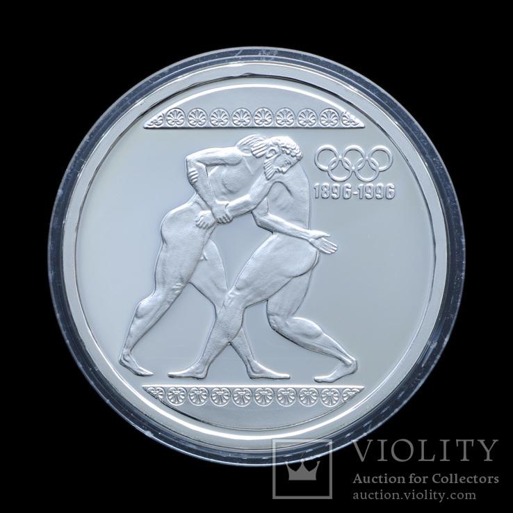 1000 Драхм 1996 Борьба, Греция
