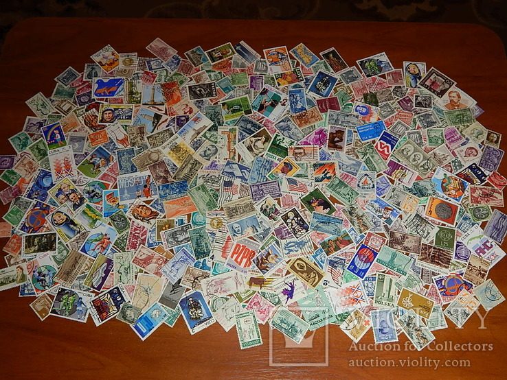 Марки разных стран мира 440 шт.