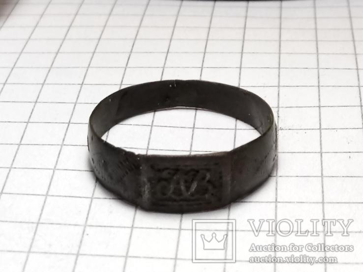 Перстень Именной с инициалами, фото №5