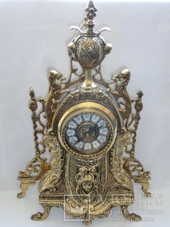 Каминные Бронзовые Часы