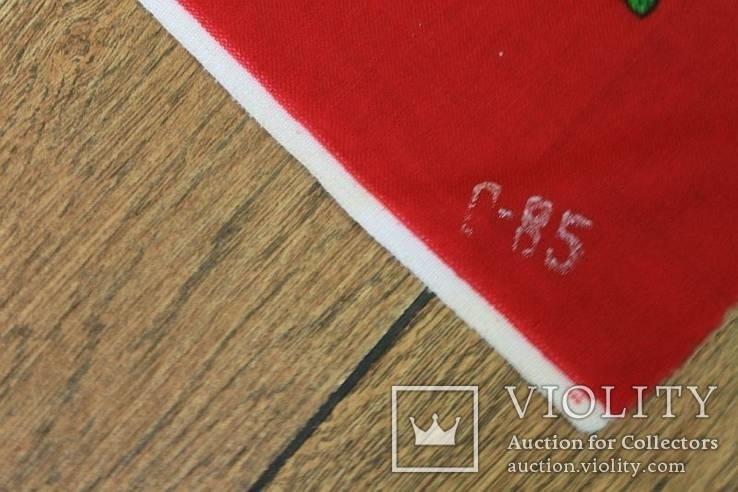 Шерстяной старинный платок №5, фото №12