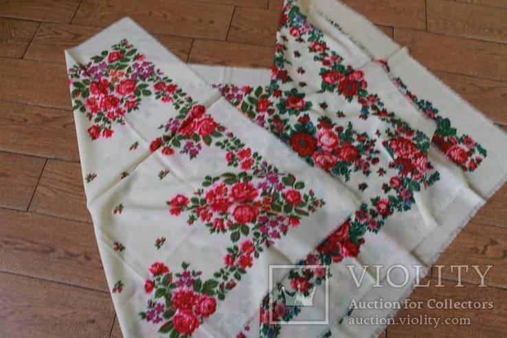 Два шерстяных платка №1, фото №10