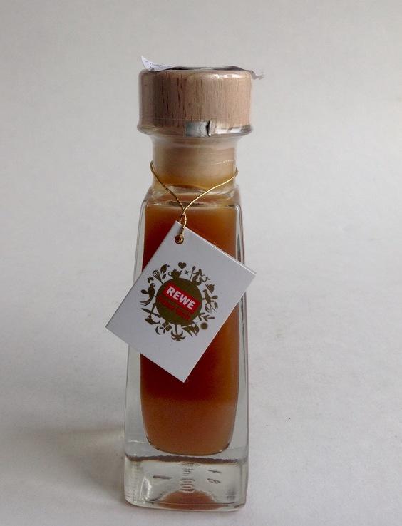 Уксус фруктовый натуральный. Персиковый. 100 мл.  Германия. ТМ  REWE., фото №3