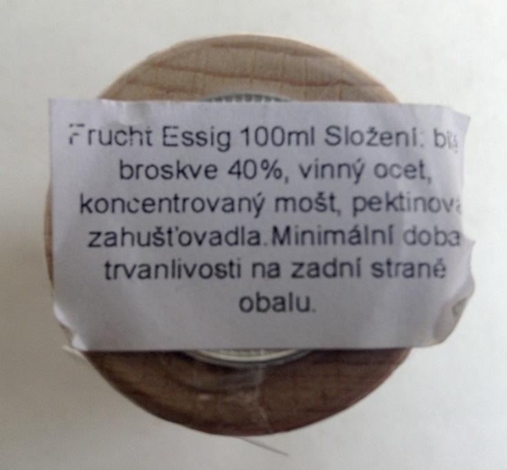 Уксус фруктовый натуральный. Персиковый. 100 мл.  Германия. ТМ  REWE., фото №6