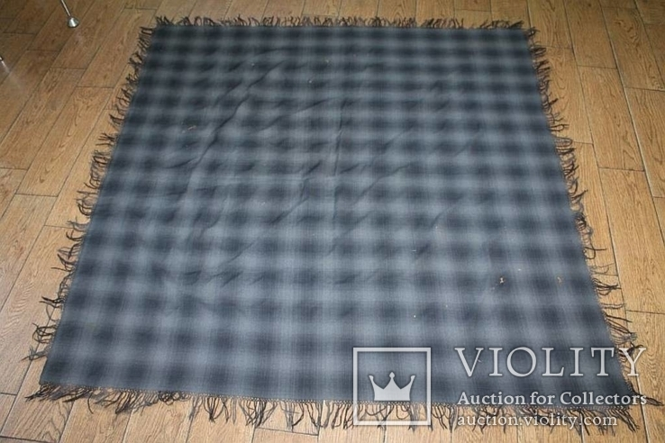 Шерстяной платок №130, фото №2