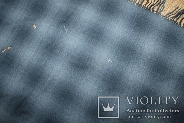 Шерстяной платок №130, фото №9