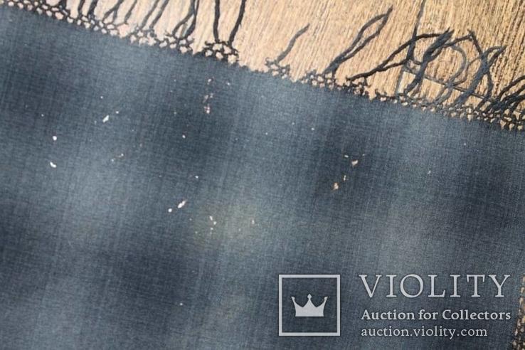 Шерстяной платок №130, фото №10
