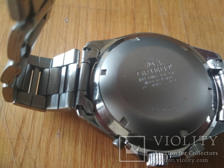 Часы Orient мультикалендарь, фото №4