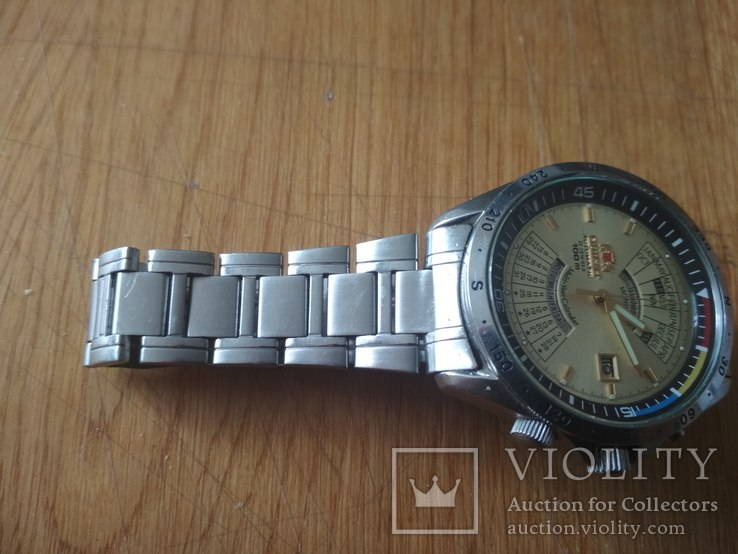 Часы Orient мультикалендарь, фото №5