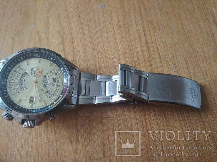Часы Orient мультикалендарь, фото №6