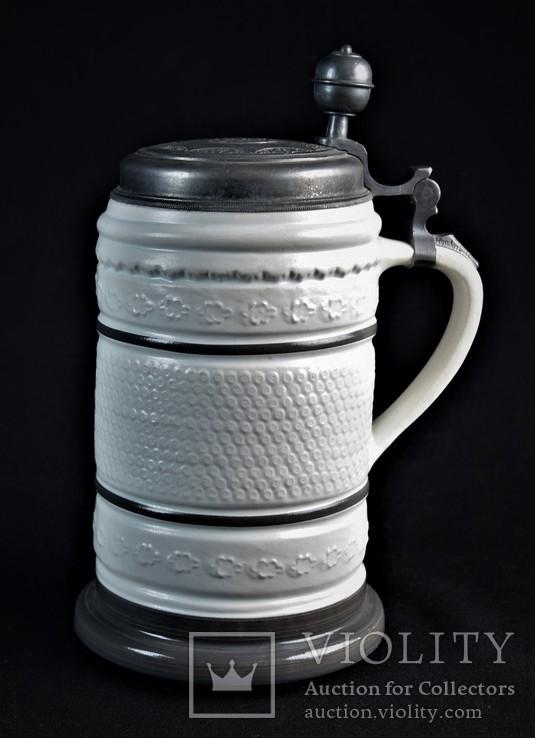 Кружка пивная коллекционная König Pilsener Германия, фото №4