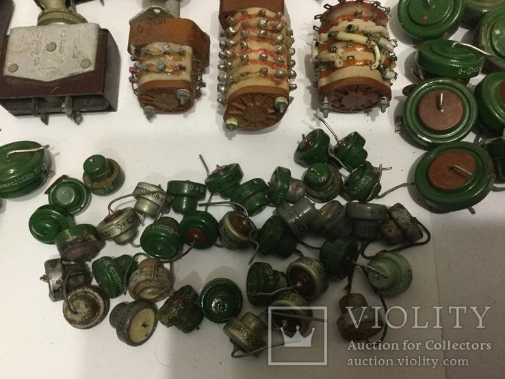 Переключатели серебряные. Танталовые конденсаторы., фото №9