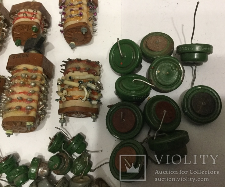 Переключатели серебряные. Танталовые конденсаторы., фото №10