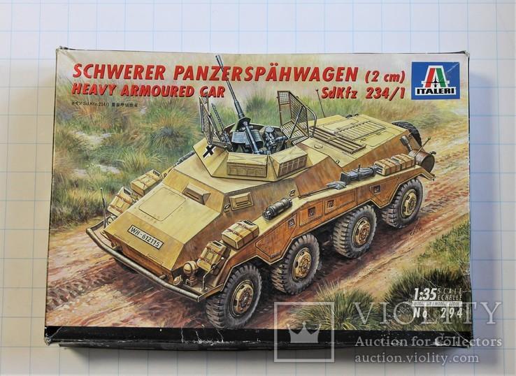Немецкий тяжелый броневик SdKfz 234/1