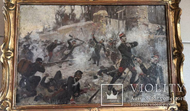 Картина Штыковая Атака, фото №4
