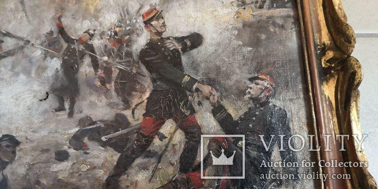 Картина Штыковая Атака, фото №5