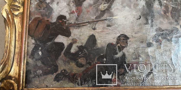 Картина Штыковая Атака, фото №6