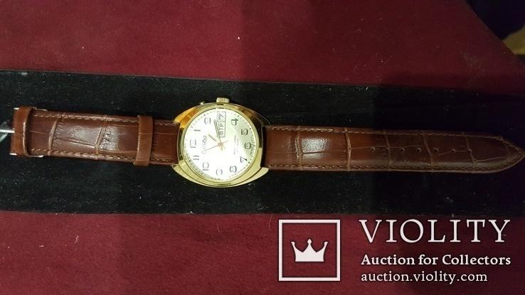 Часы Слава 27 камней автоподзавод, фото №3