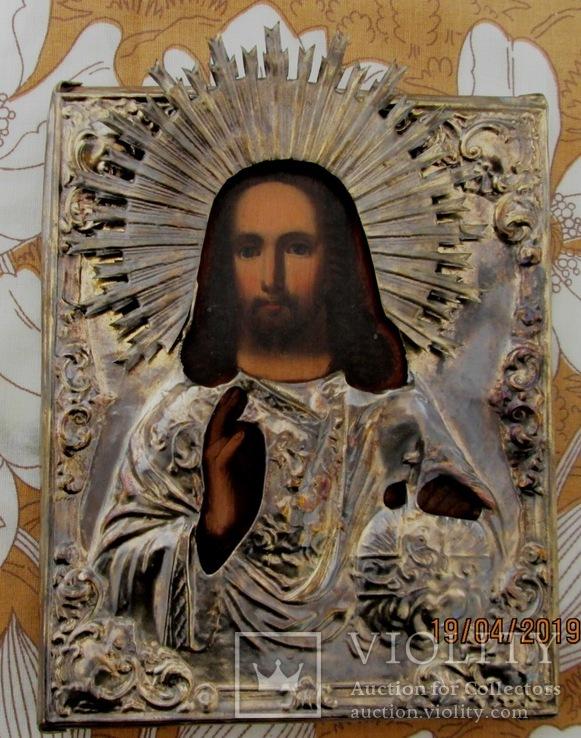 Венчальная пара. Господь Вседержитель и Смоленская икона Богородицы., фото №3