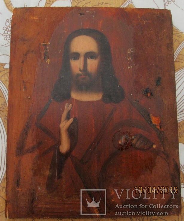 Венчальная пара. Господь Вседержитель и Смоленская икона Богородицы., фото №7