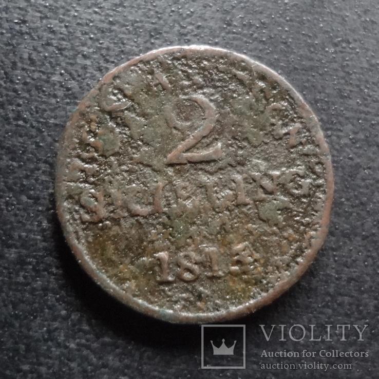 2 скиллинга 1815 Дания    (П.3.23)~, фото №2