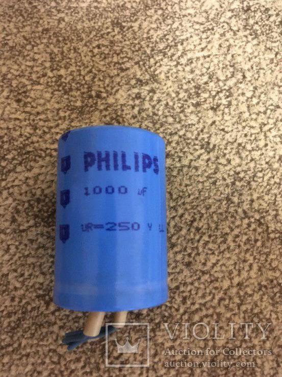 Конденсаторы Philips 1000 uF x 250V 9 шт. и диоды кд203А  11 шт., фото №7