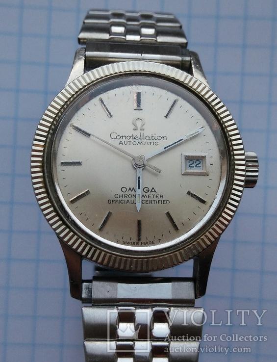 Часы Omega Constellation automatic chronometer. Swiss made., фото №11