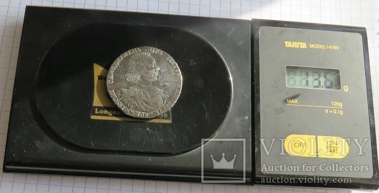 Полтина царя Петра I ,1718 ок.,Копия. См. обсуждение., фото №7