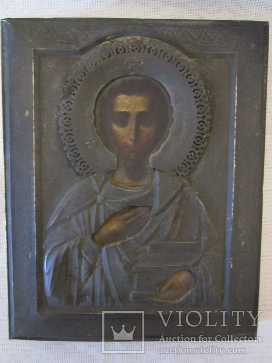 Св. Вл. М. Пантелеймон.Серебро 84* + Бонус., фото №6