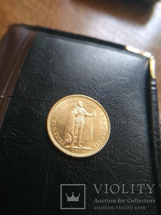 20 корон 1894. Золото.