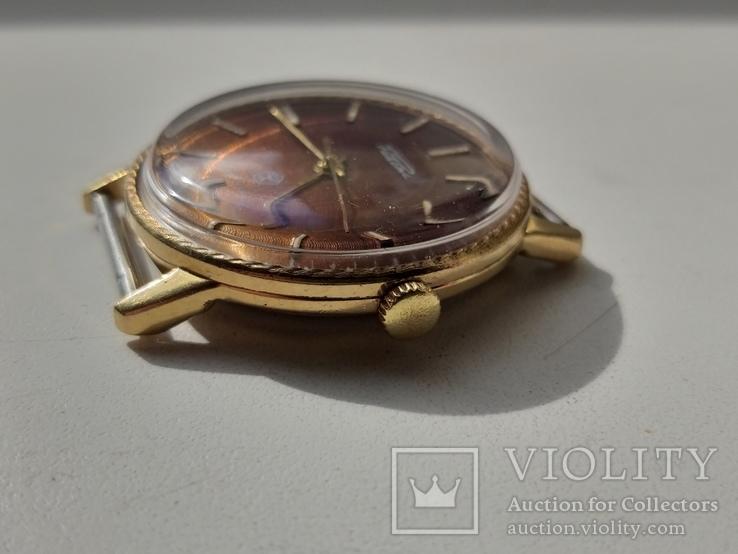 Часы Ракета (знак качества) позолота Au, фото №5