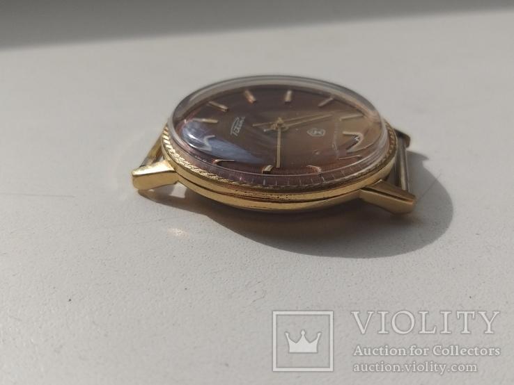 Часы Ракета (знак качества) позолота Au, фото №7