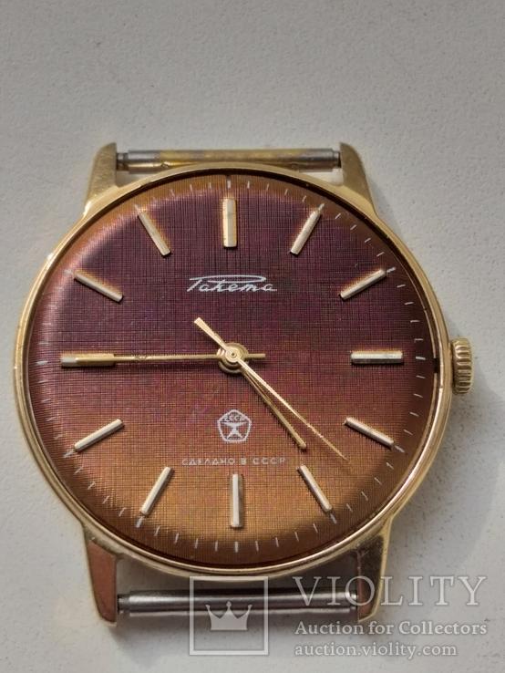 Часы Ракета (знак качества) позолота Au, фото №12
