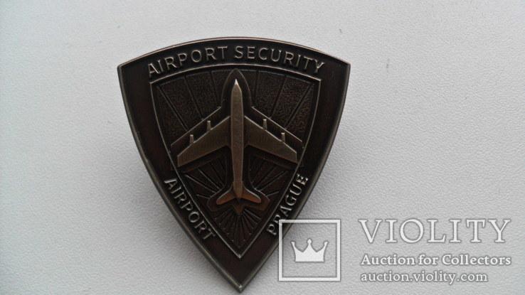 Знак - Служба безопасности Аэропорта Праги