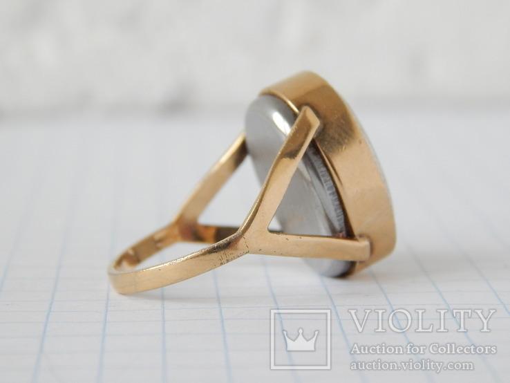 """Часы-перстень """"Чайка 1301"""" позолота AU (на ходу)., фото №7"""