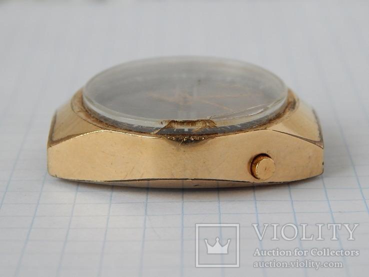 "Часы ""POLJOT 2628H"" USSR позолота AU10 (на ходу), рыбий глаз., фото №8"