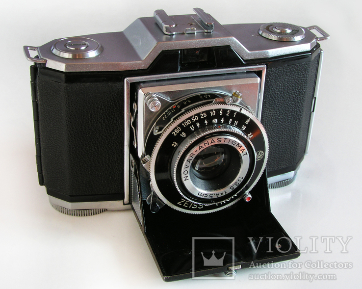 Фотоаппарат Ikonta 522/24,Zeiss Ikon,24х36 мм,Германия,1948 г.