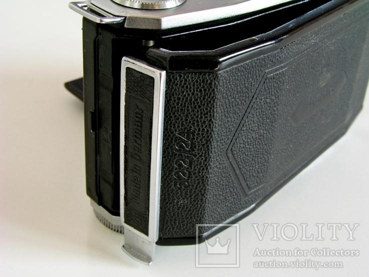 Фотоаппарат Ikonta 522/24,Zeiss Ikon,24х36 мм,Германия,1948 г., фото №7