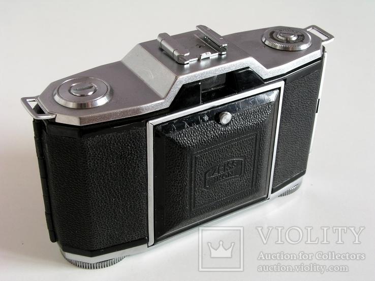 Фотоаппарат Ikonta 522/24,Zeiss Ikon,24х36 мм,Германия,1948 г., фото №9
