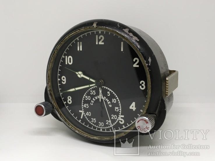 Часы Авиационные. 60 ЧП. Работают.