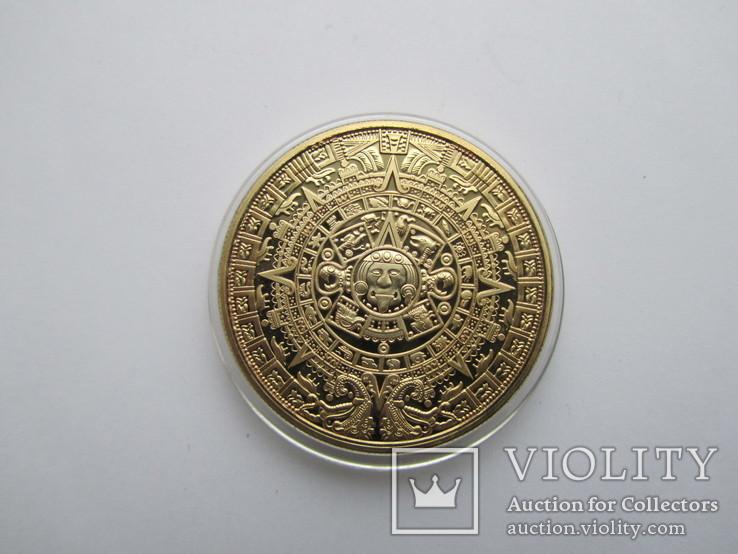 Медаль Календарь Майя