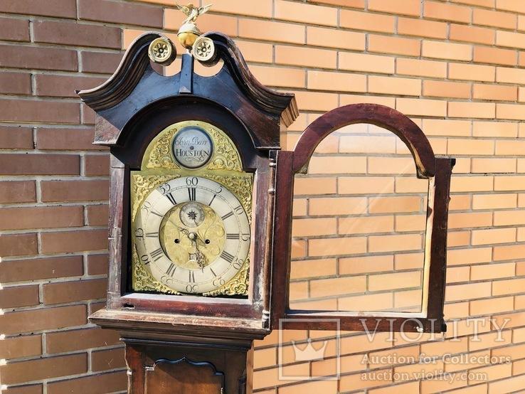 Английские напольные часы конца 18 века, фото №9