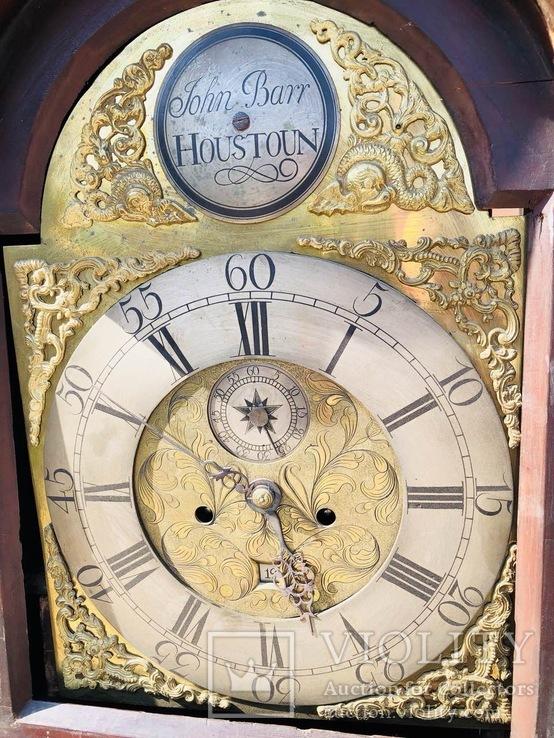 Английские напольные часы конца 18 века, фото №11