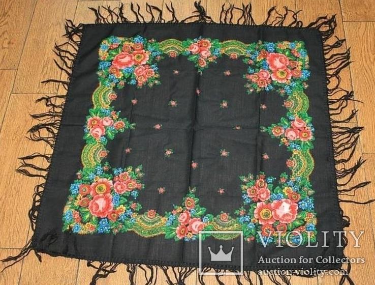 Шерстяной платок №57, фото №2