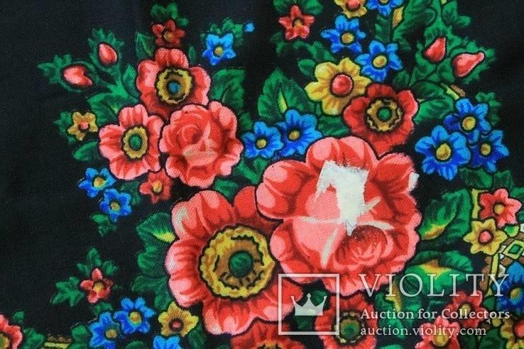Шерстяной платок №57, фото №8